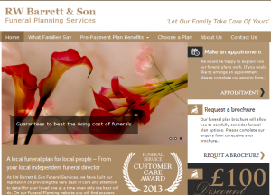 Funeral Plans Newcastle Website